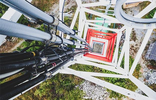 Bild zur Dienstleistung Funkmastbau