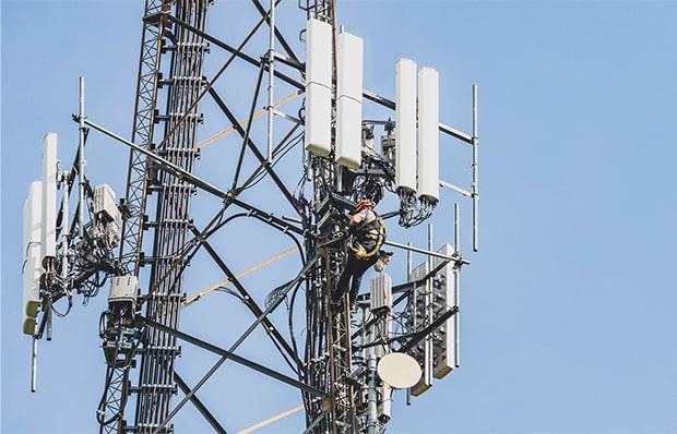 Bild zur Dienstleistung Errichtung und Installation von Funkmasten